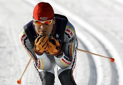 Bronze: Tobias Angerer auf Medaillenfahrt