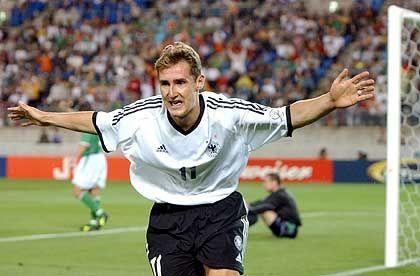 Publikumsmagnet Fußball-WM: Torschütze Miroslav Klose