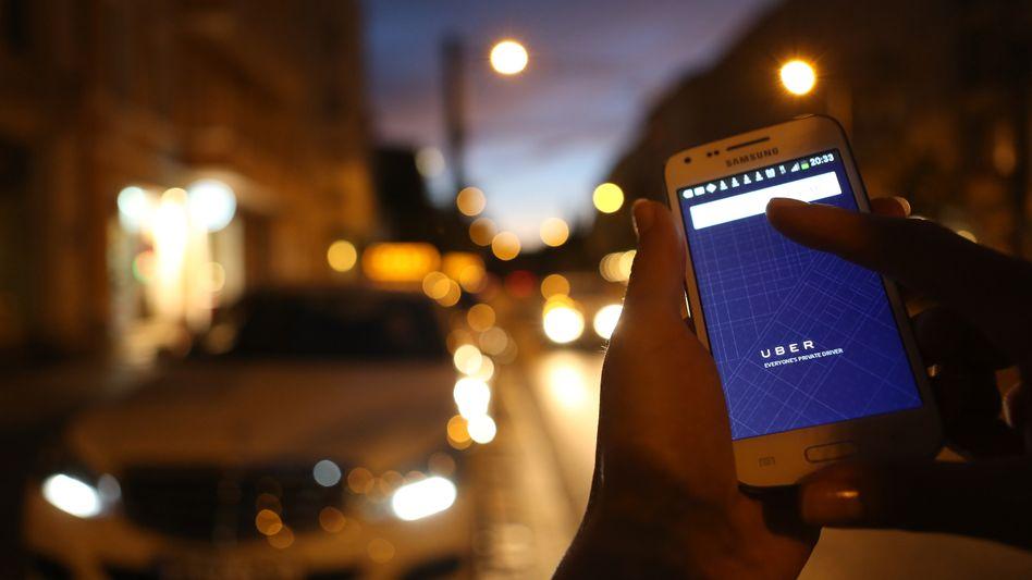 Uber: Das Start-up will künftig auch Taxis vermitteln