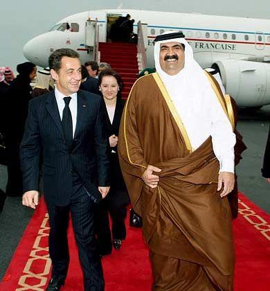 Beschwerde beim Scheich: Frankreichs Präsident Nicolas Sarkozy sprach mit Saudi-Arabiens Prinz Salman Abdelaziz al Saud über den hohen Ölpreis