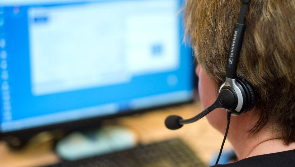 Callcenter: Im Dienstleistungsbereich sollen die meisten Jobs entstehen
