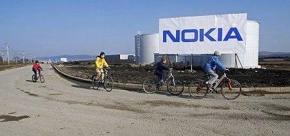 Ausblick verbessert: Nokia-Werk in Rumänien