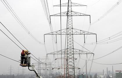Störung im Netz: Stromleitung in Hamburg-Harburg