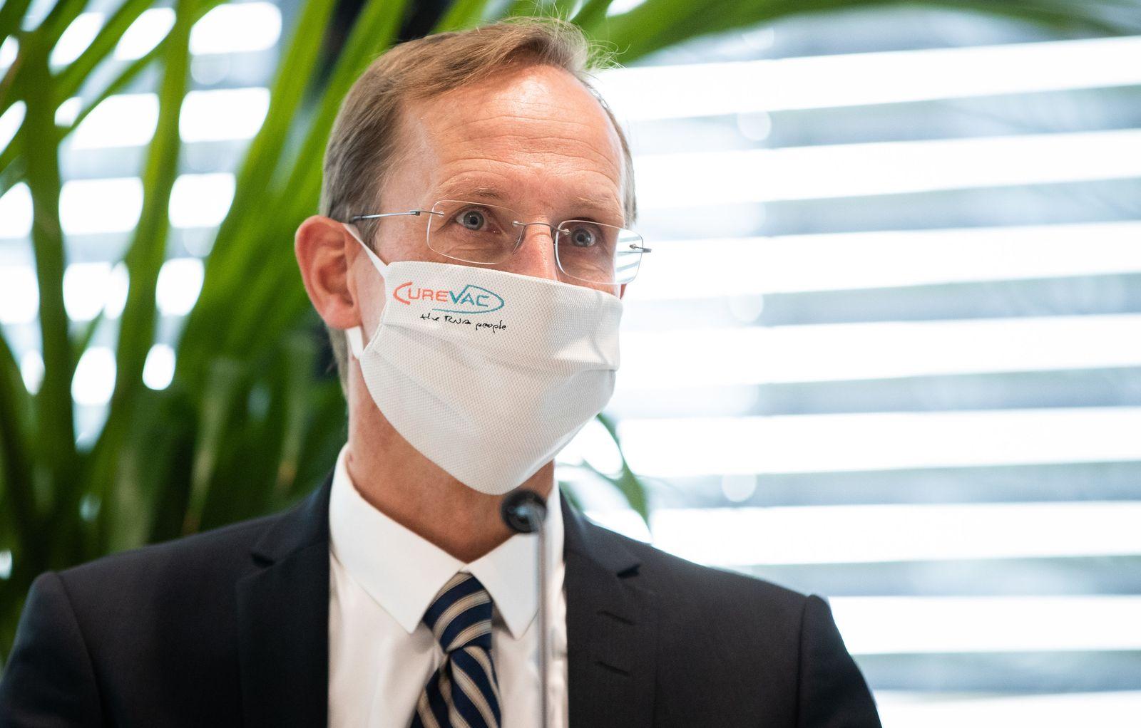 Ministerpräsident Kretschmann besucht Curevac