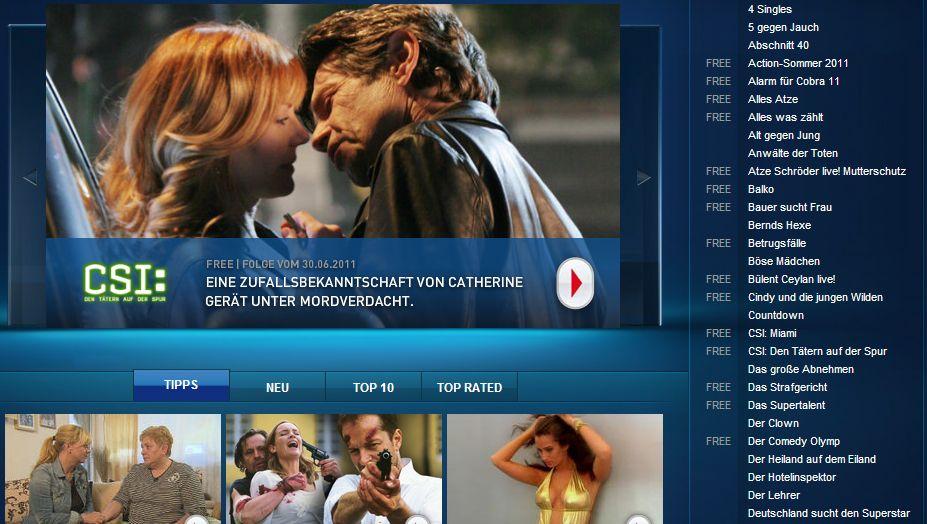 Onlinevideoportal RTL Now: Das Kartellamt untersagte der RTL-Mediengruppe eine geplante gemeinsame, werbefinanzierte Videowebsite mit Konkurrent ProSiebenSat.1