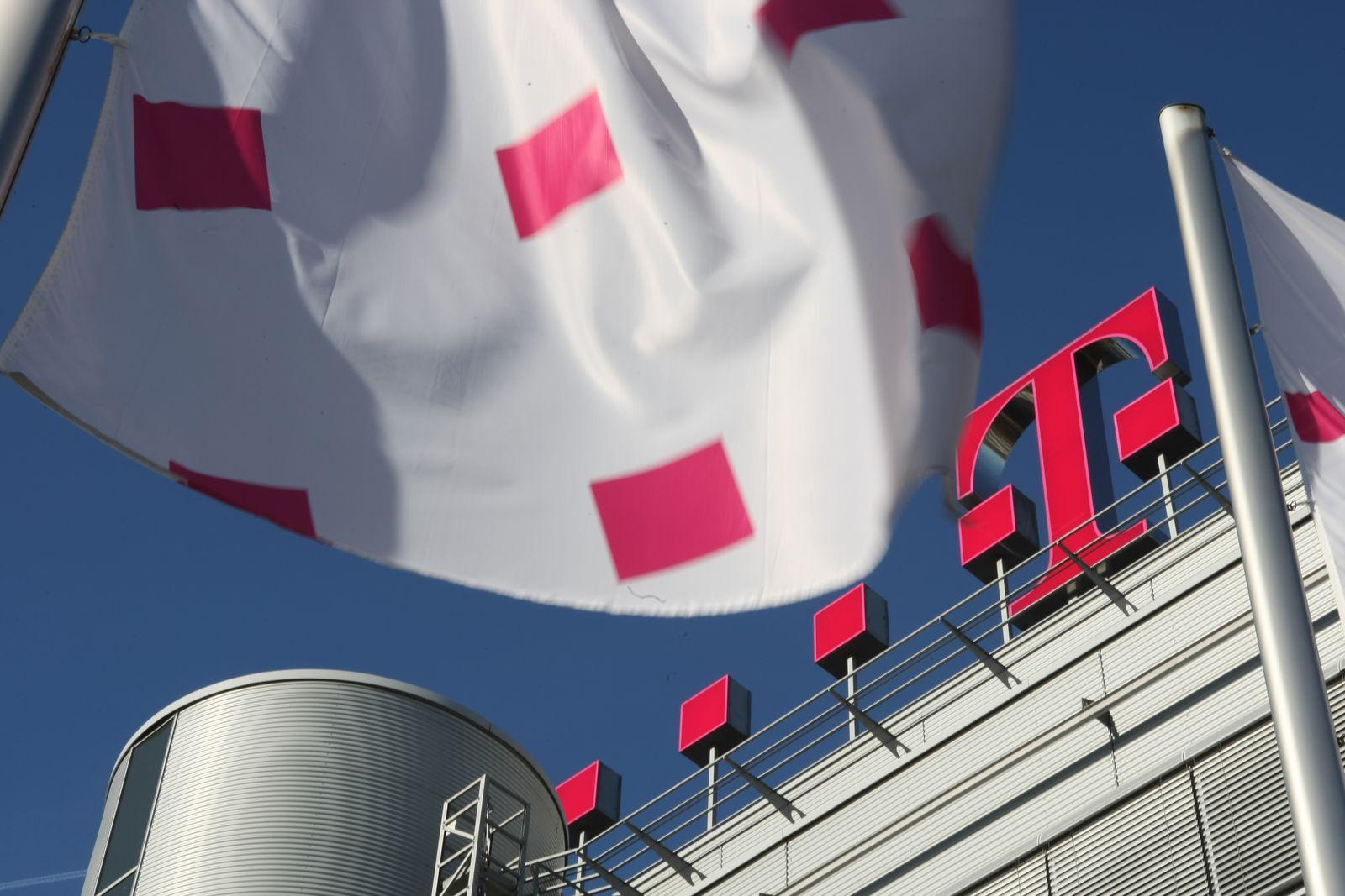 Thema mmO: Deutsche Telekom / Logo / Zentrale Bonn