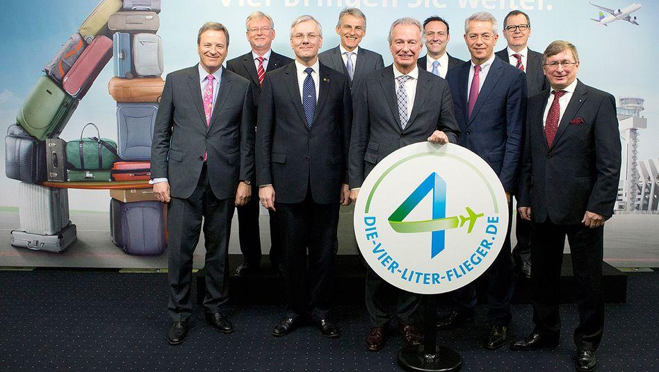 Michael Garvens (l.): Der Chef des Flughafens Köln-Bonn wird als ein möglicher Mehdorn-Nachfolger gehandelt