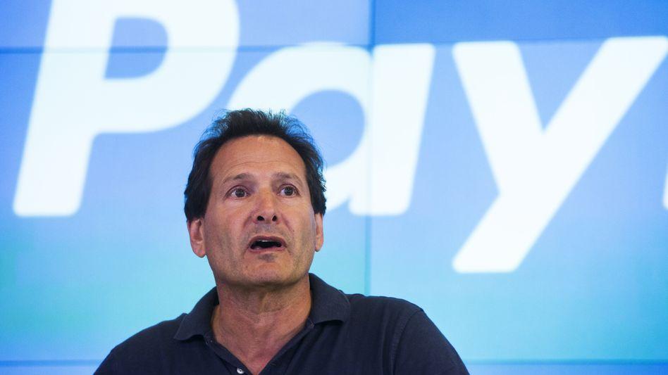 Setzt auf digitale Geldbörsen: Dan Schulman, Chef des Zahlungsdienstleisters Paypal