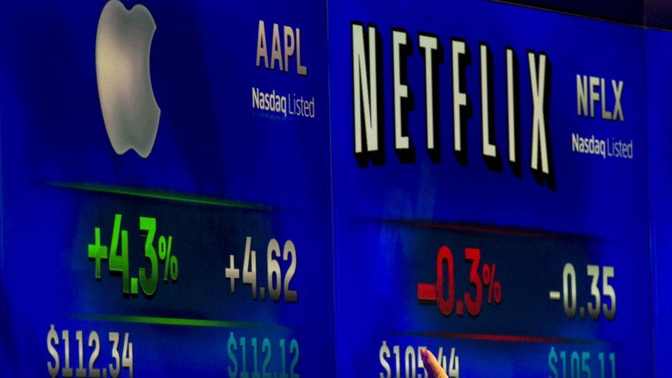 Kursrally: Dax, Dow Jones und die US-Techbörse Nasdaq legen am Dienstag deutlich zu