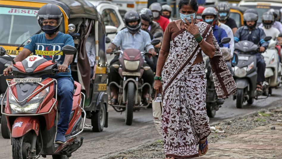 3,6 Millionen registrierte Corona-Fälle: Indien leidet.
