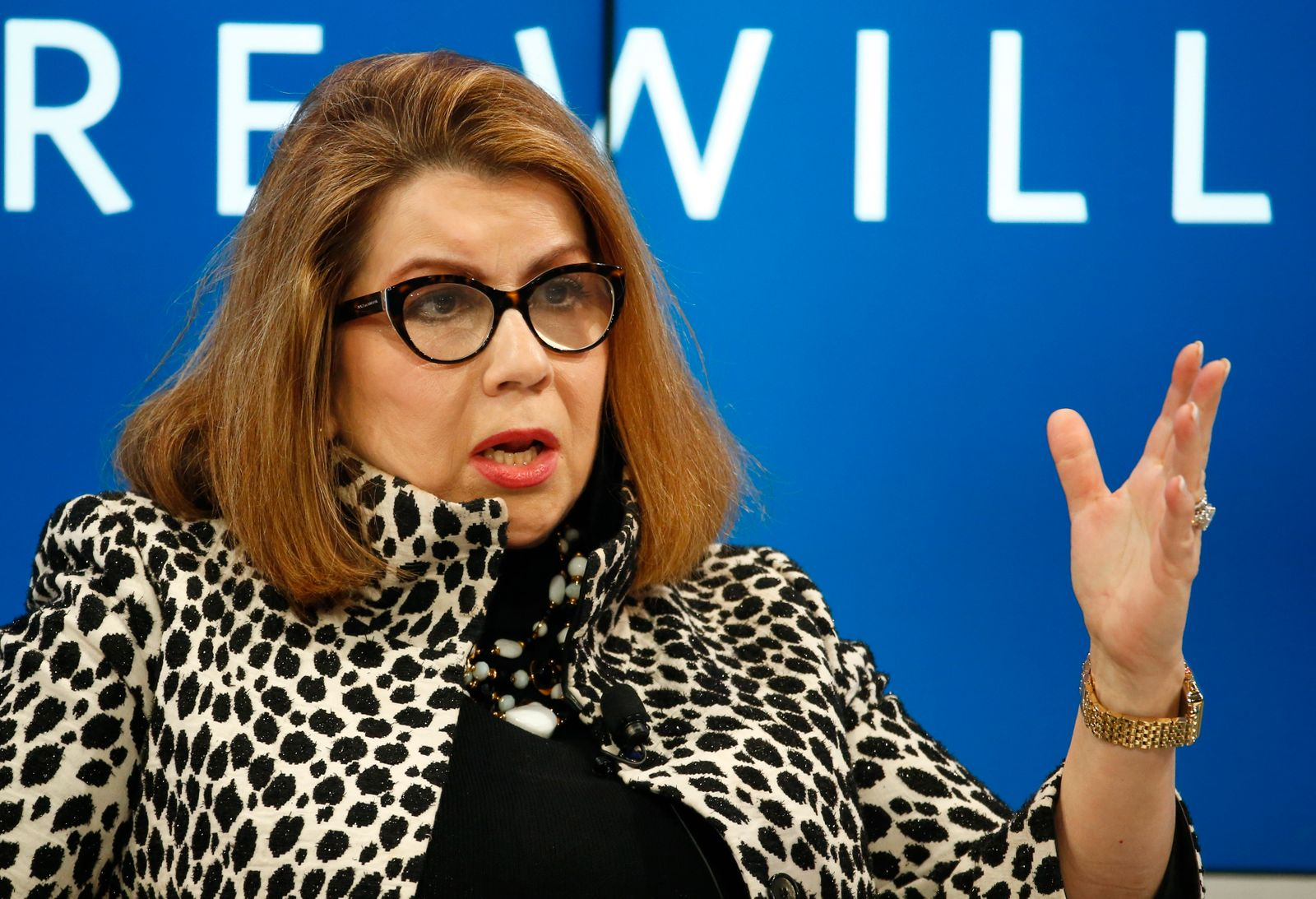 Reinhart Professor of the International Financial System at Harvard Kennedy School attends the WEF annual meeting in Davos
