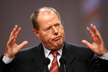 """Finanzminister Steinbrück: Deutschland sei mit der US-Hypothekenkrise """"ganz gut fertig geworden"""""""