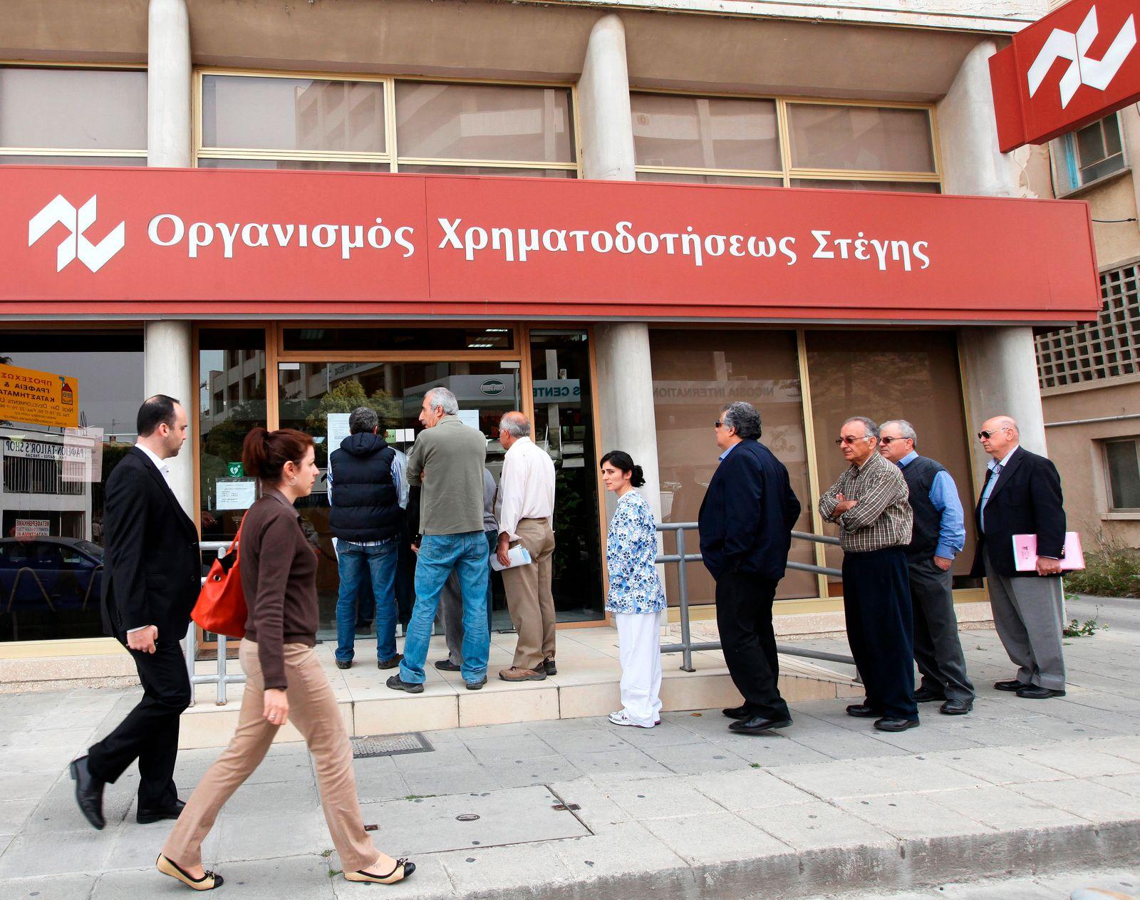 Zypern / Finanzkrise / Bank