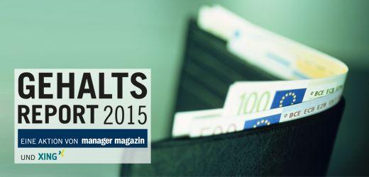 Gehaltsreport 2015