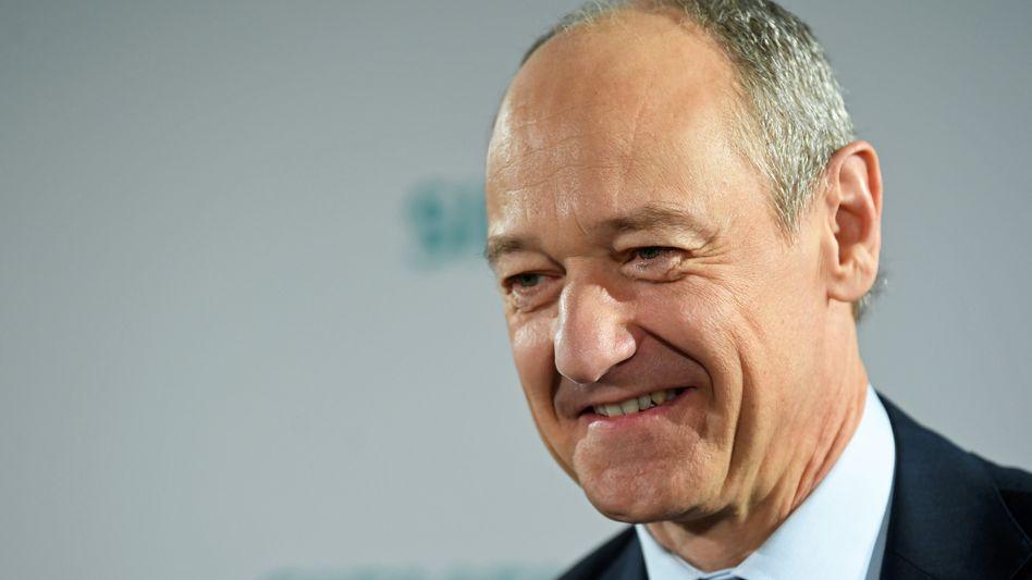 """""""Erneut geliefert"""": Siemens-Chef Roland Busch"""