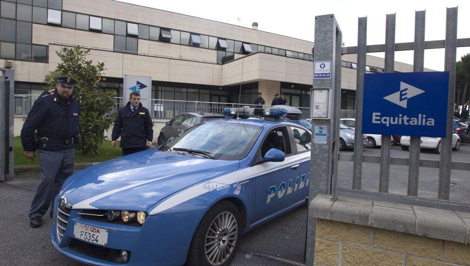 Zweiter Anschlag in Rom: Am Freitag verletzte ein Sprengsatz den Direktor des Unternehmens Equitalia schwer