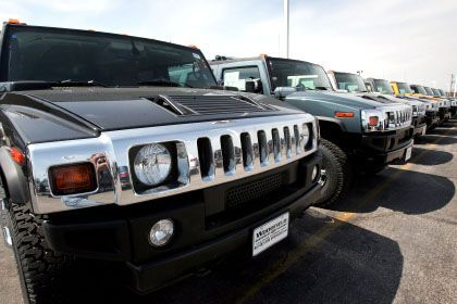 Verkauft: GM-Geländewagen Hummmer