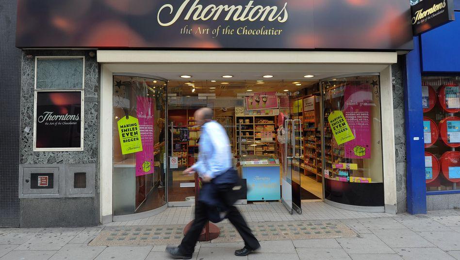 Thorntons Filiale in London: Erobert Ferreo jetzt die Einkaufsstraßen?