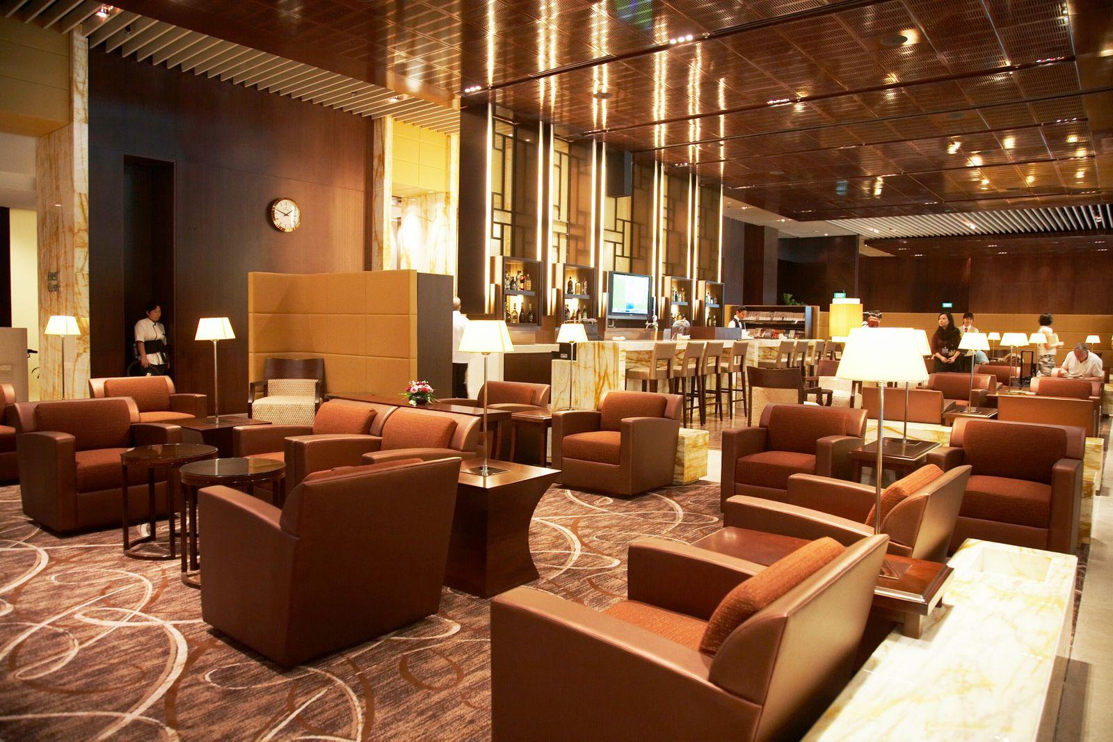 Singapore Airlines / Silverkris-Lounge