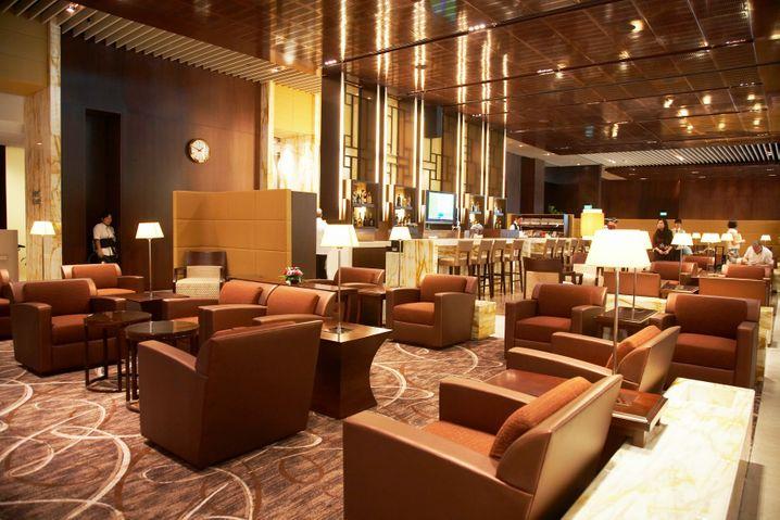 Angenehme Wartezeit: Silverkris-Lounge in Changi