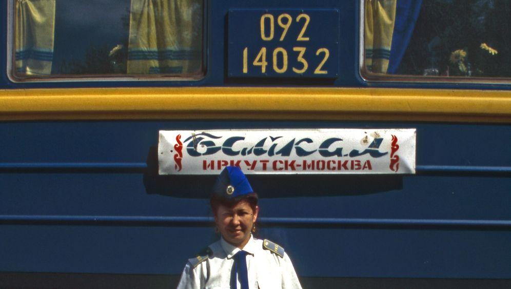 """Transsibirische Eisenbahn: """"Zarengold"""" am Baikalsee"""
