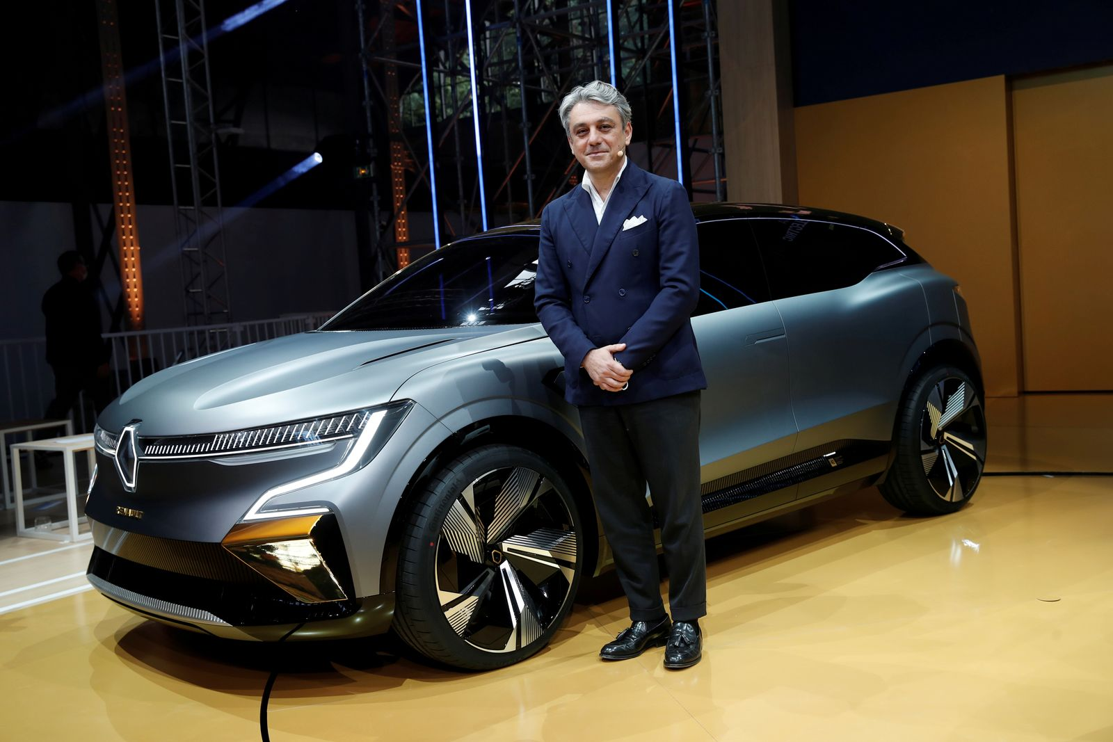 FILE PHOTO: Renault updates its electric strategy