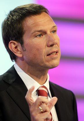 """""""Auf dem richtigen Weg"""": Telekom-Chef Obermann will die Mitarbeiter durch intensive Gespräche für sich gewinnen"""