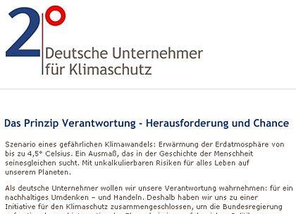 """Von Michael Otto gegründet: Die Umweltinitiative """"2 Grad"""""""