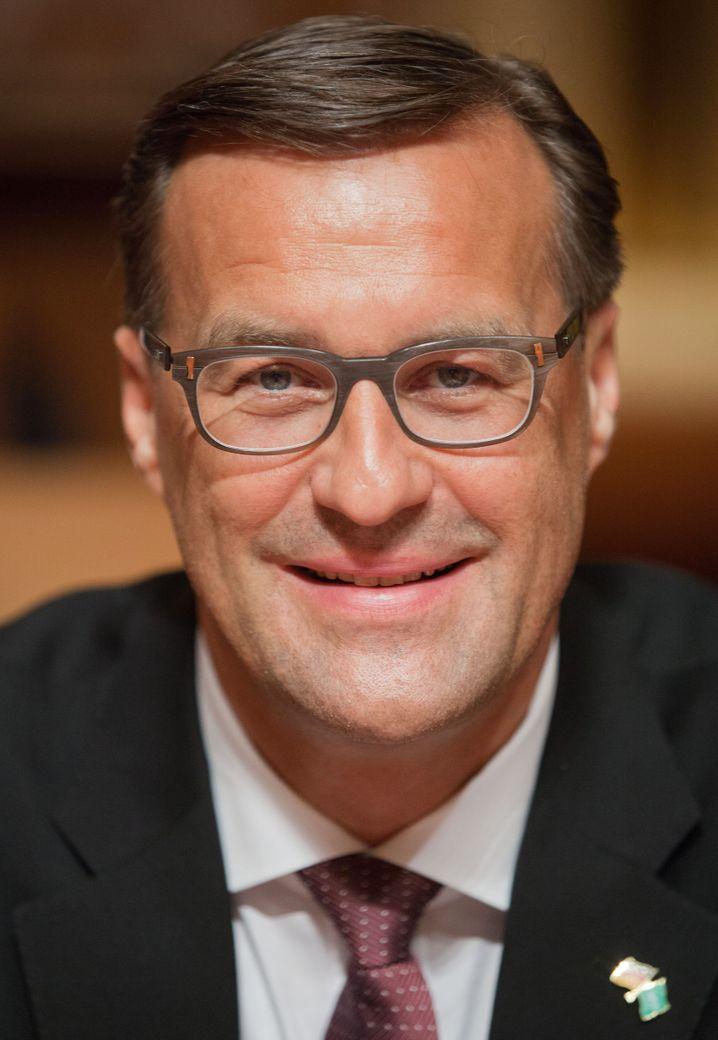 Osram-Chef und Droege-Berater: Olaf Berlien.