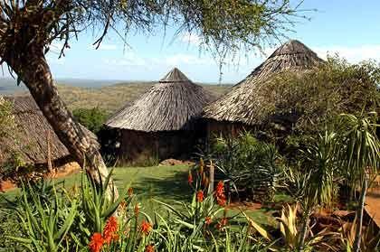 Cottages der Ol Malo Lodge