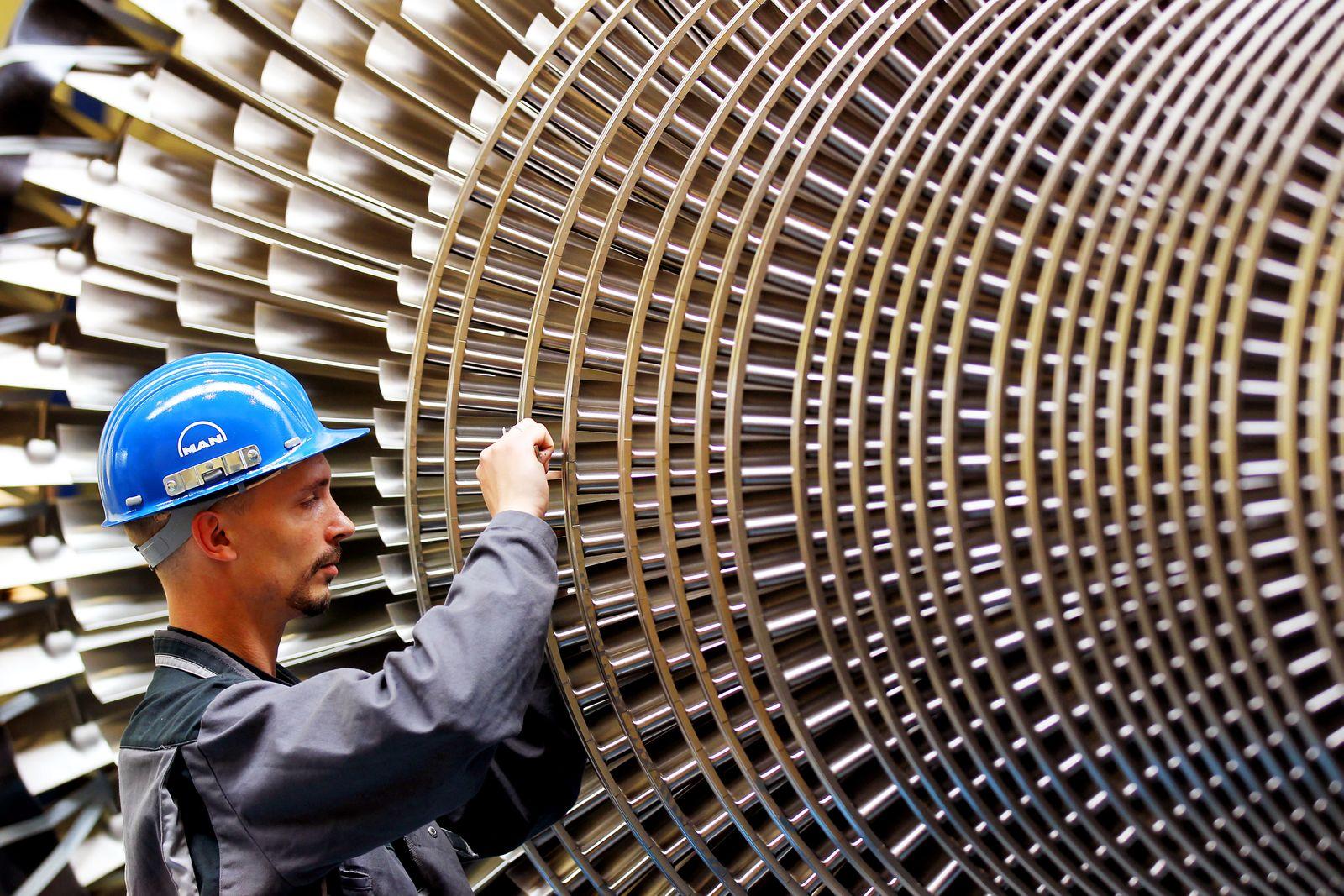 Deutschland / Konjunktur Industrie Produktion / Maschinenbau