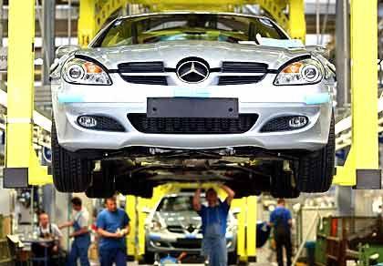 Mercedes-Produktion: DaimlerChryslers konzerninterne Revision läuft auf Hochtouren