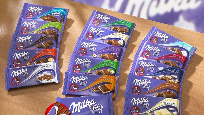 Milka-Schokolade: Lila als Teil der Marke