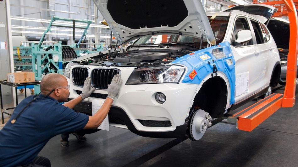 Produktion von BMW in den USA