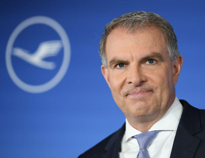 Lufthansa-CEO Carsten Spohr
