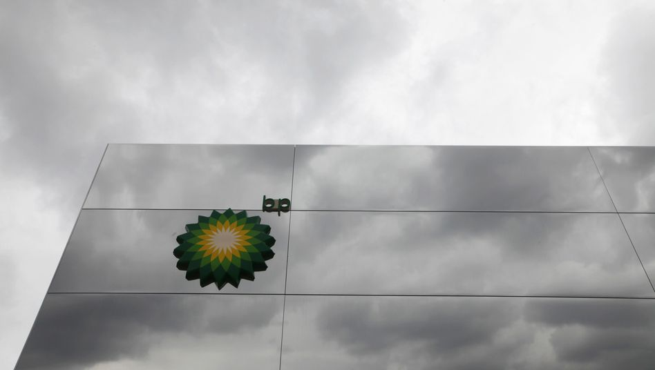 BP-Logo: Die Briten mischen auch im russischen Ölgeschäft kräftig mit