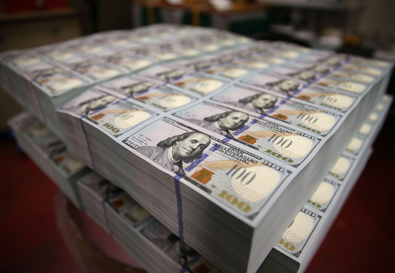 Neue Dollar Scheine