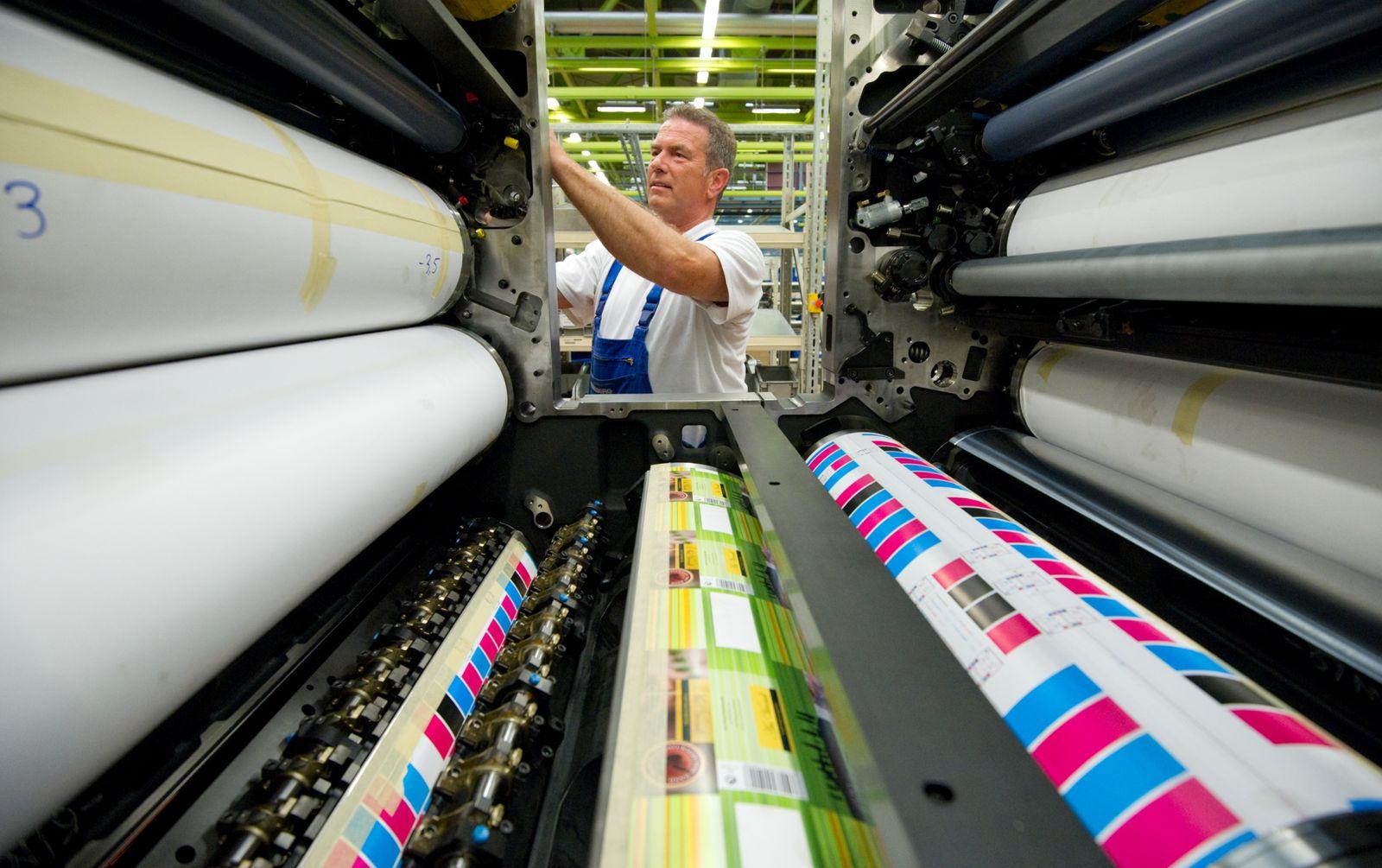 Heidelberger Druckmaschinen AG - Produktion