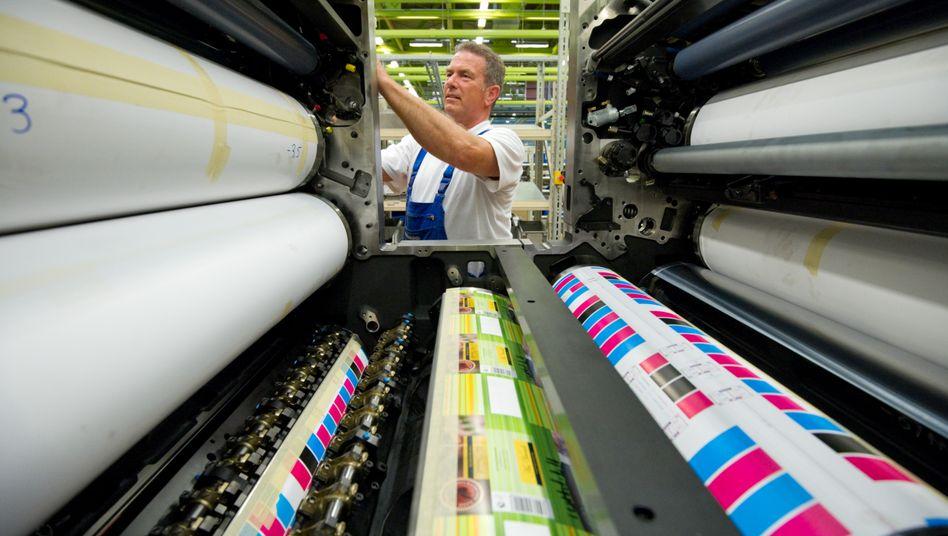 Heidelberger Druckmaschinen: Alte Druckwerke als Auslaufmodell - neue Digitaldruckmaschinen sollen bei der Neuaufstellung helfen