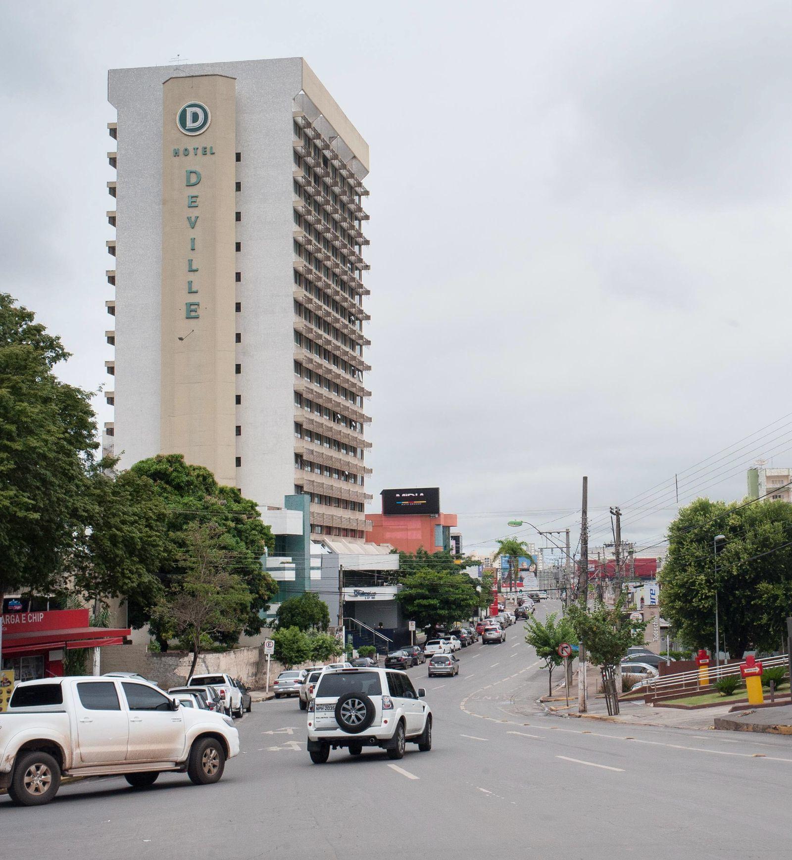 WM2014/ Städte/ Cuiaba/ Hotel