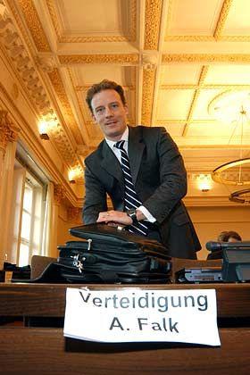 Angeklagt wegen Betrugs: Alexander Falk