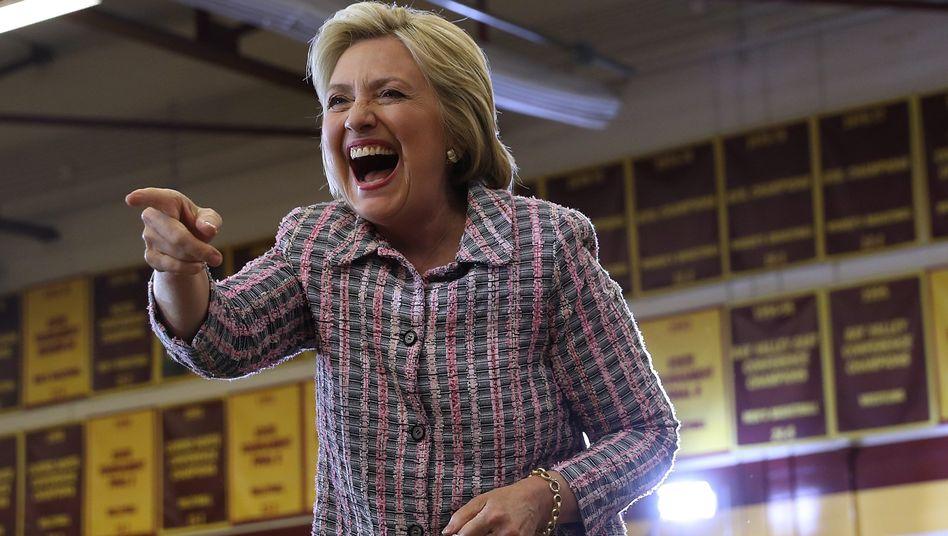 Clinton in Sacramento