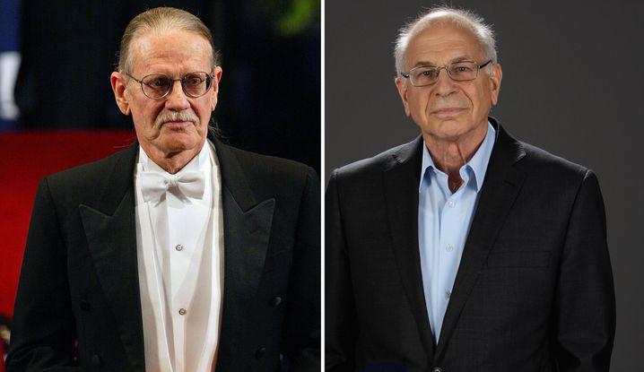 Angst statt Gier: Daniel Kahneman (r.) wurde 2002 gemeinsam mit dem Amerikaner Vernon Smith ausgezeichnet