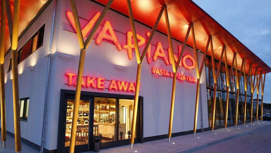 Die Restaurantkette Vapiano ist nach Ansicht des neuen Chef zu schnell gewachsen