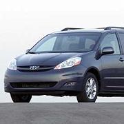 Zurück in die Werkstatt: Sienna-Minivan von Toyota
