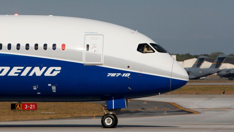 Boeing 787-10 vor dem Jungfernflug 2017