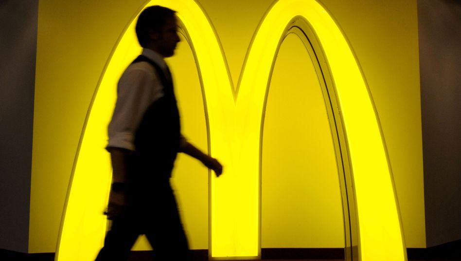 McDonald's-Logo: Die Burger-Kette ist auf Wachstumskurs