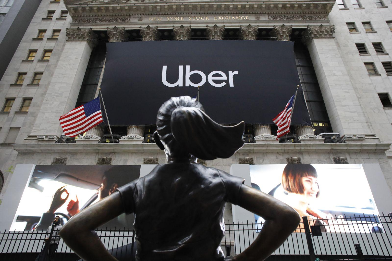 US-Fahrdienstvermittler Uber an der Börse