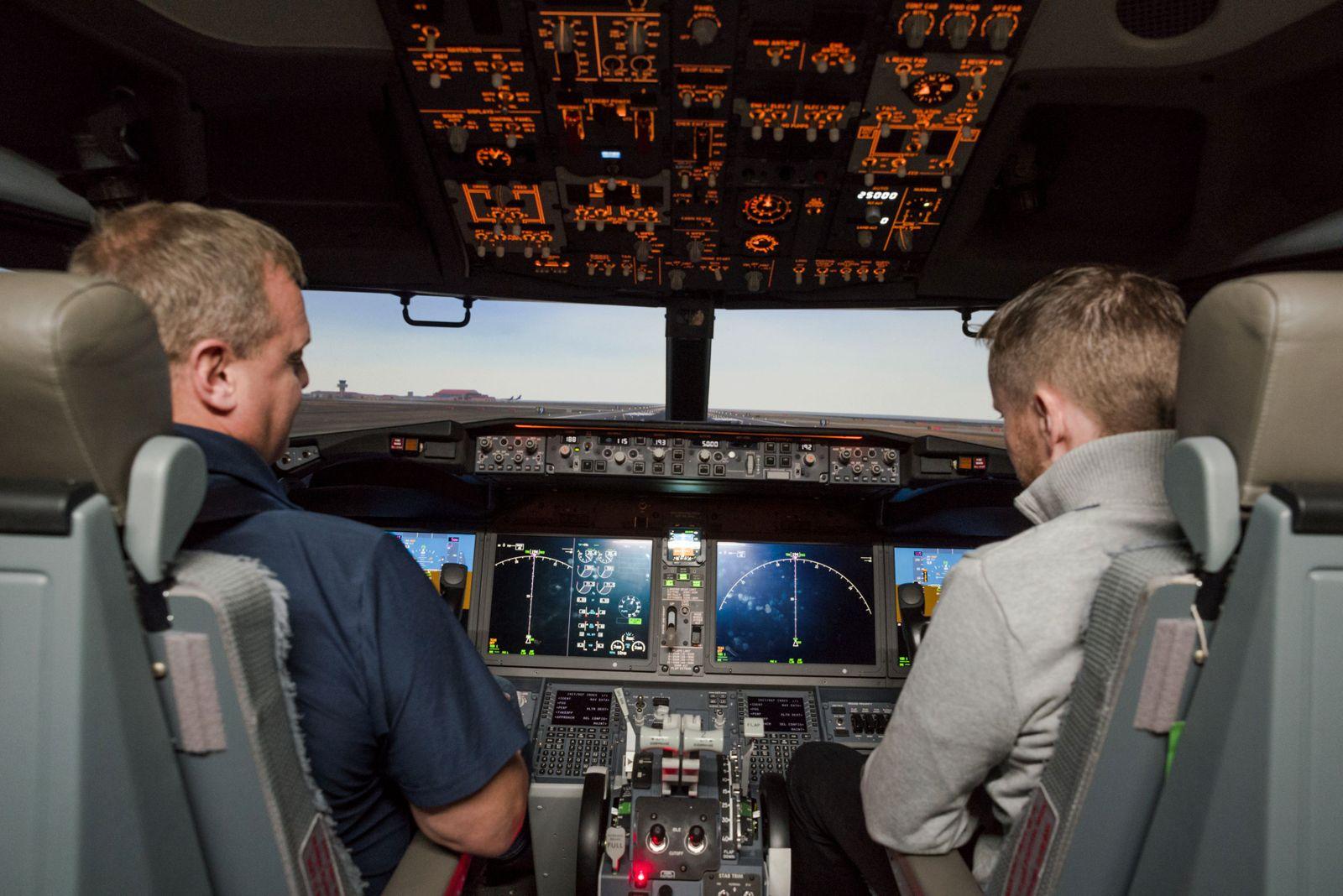 Boeing 737 Max / Flugsimulator