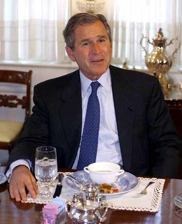 Bangt noch um den Sieg: George W. Bush